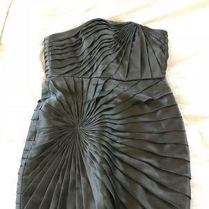 J Crew Silk Sunburst Cocktail Dress